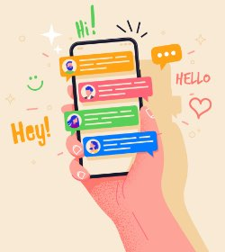 Send chat transcripts